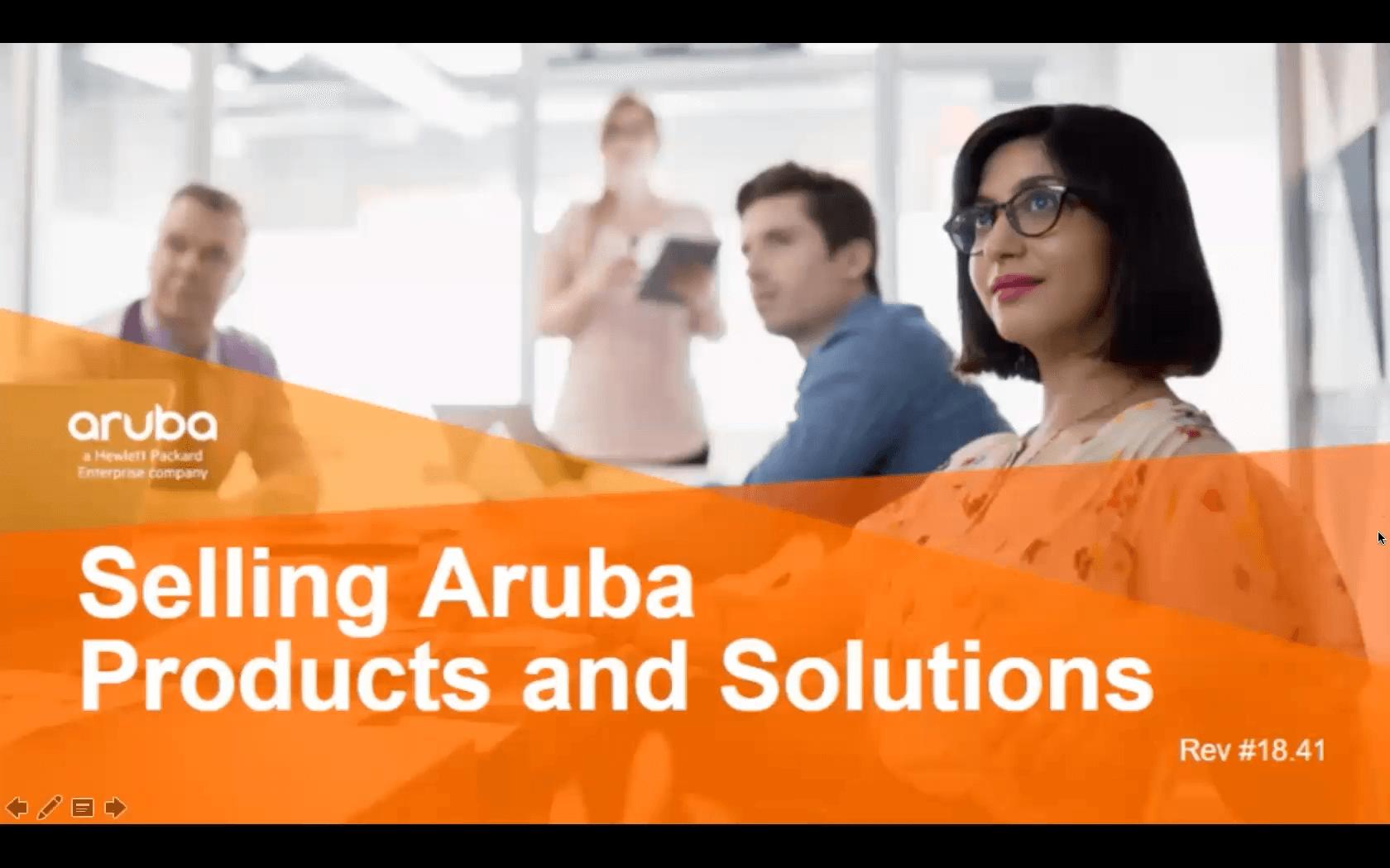 第1章-了解Aruba销售机会