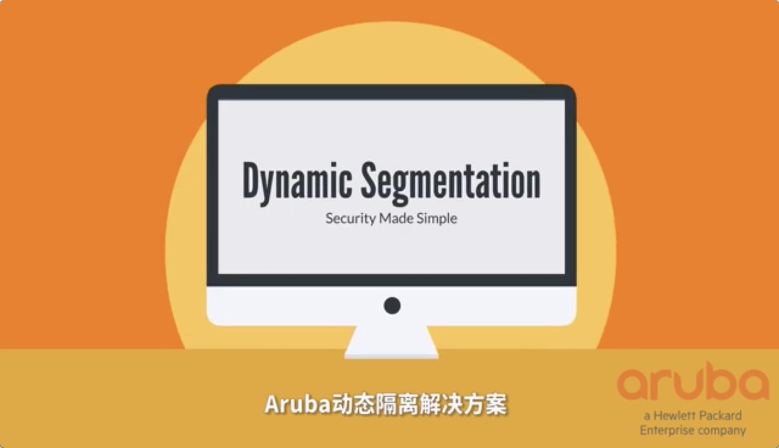 Aruba Dynamic Segmentation
