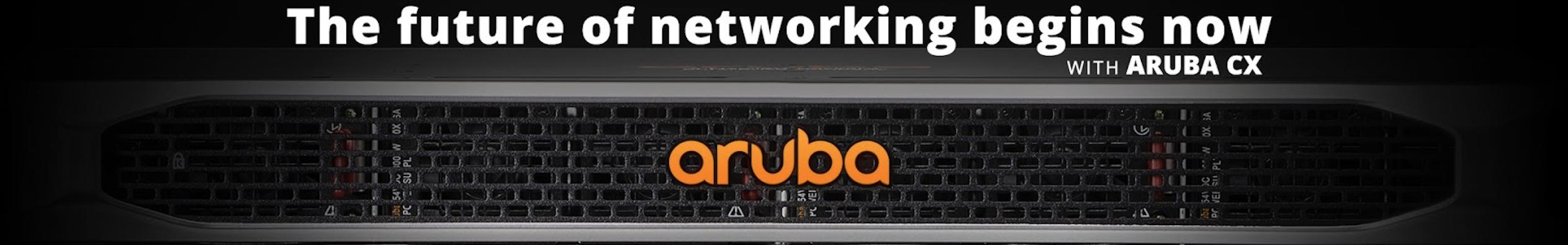 ArubaOS-CX下一代交换平台发布会