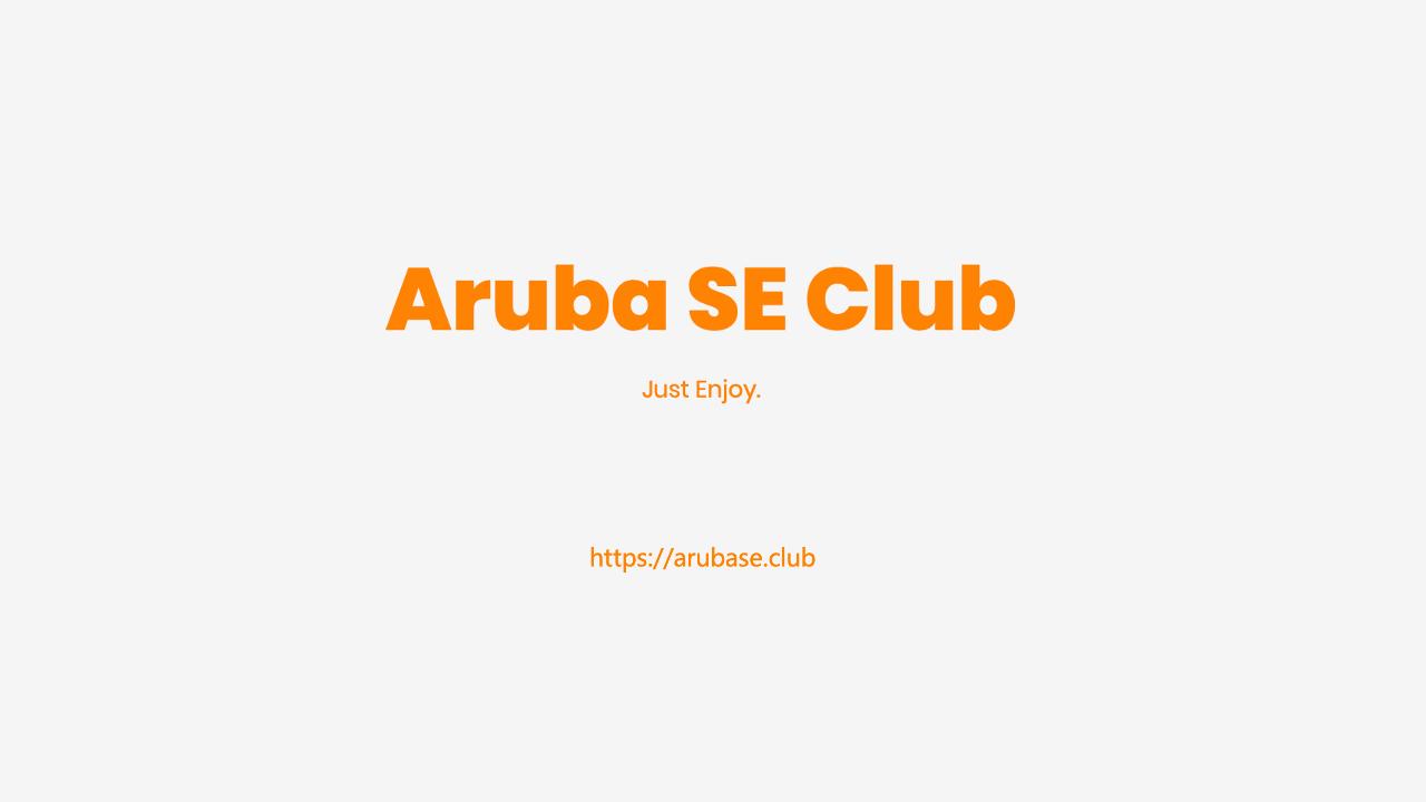 Aruba室外AP实施经验分享