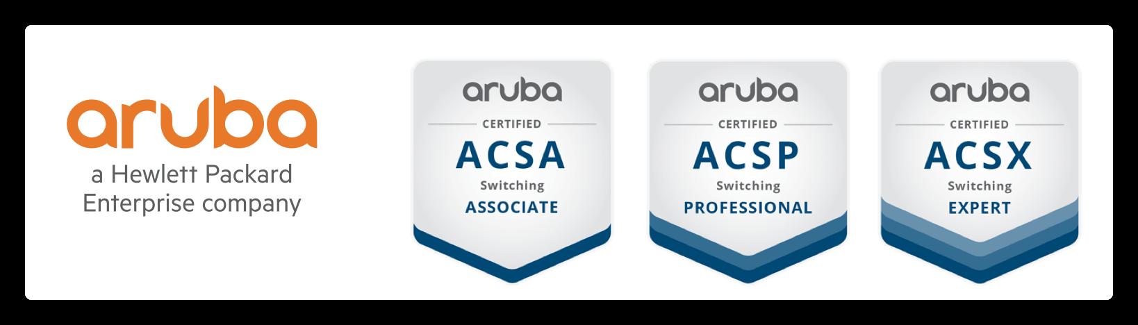 ARUBAOS-CX交换机培训和认证更新